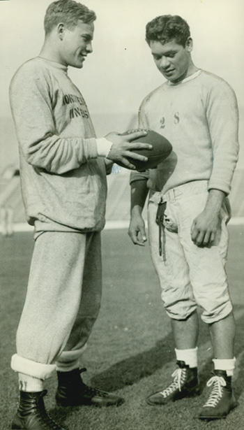 Bob Hoernschemeyer and Herman Wedemeyer